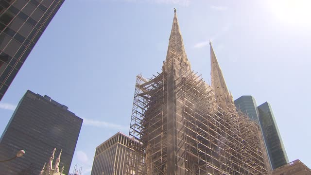 - st. patrick's cathedral manhattan stock videos and b-roll footage