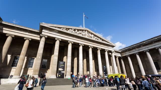 london - circa 2014: - british museum stock videos & royalty-free footage