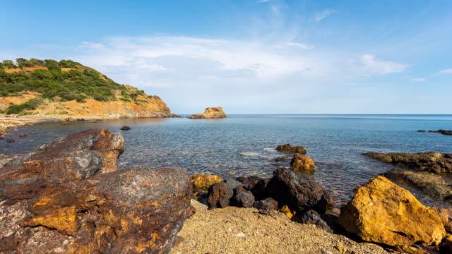 isola d'elba - circa 2014: - igneous stock videos & royalty-free footage