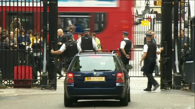 nnbk493p - downing street stock videos and b-roll footage