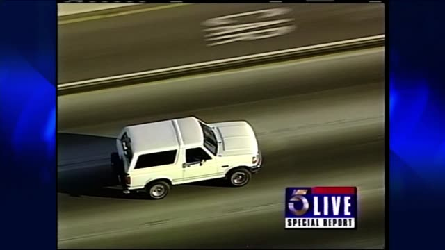 CA: 17 June 1994 25 Years Since OJ Simpson Car Chase