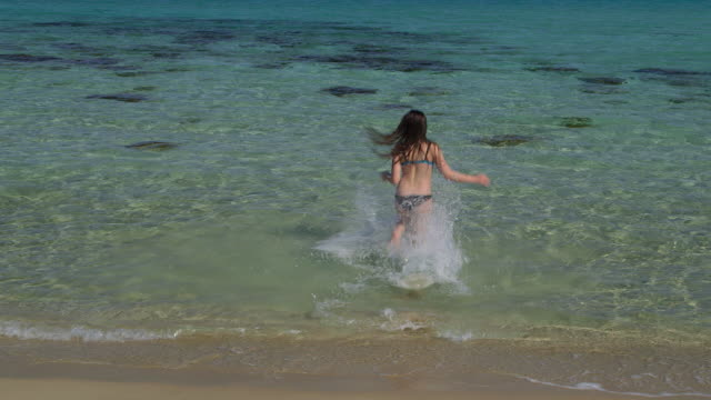 tip of cyprus - one teenage girl only stock videos & royalty-free footage