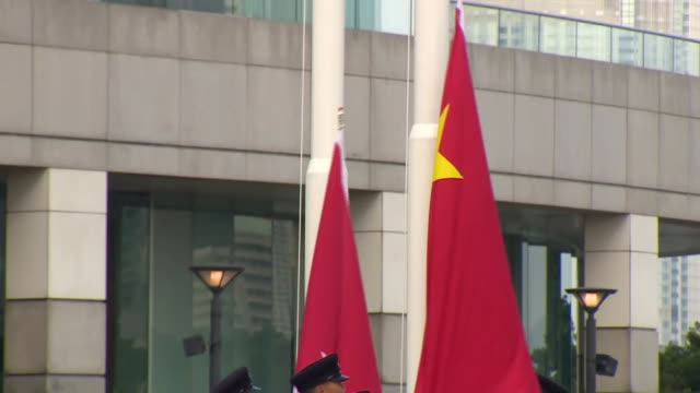 nnbj796x) - chinese flag stock videos & royalty-free footage