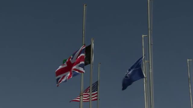 stockvideo's en b-roll-footage met nnps030t) - alle vlaggen van europa