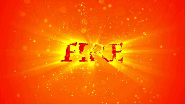 fire element flame type - conceptual symbol stock videos and b-roll footage