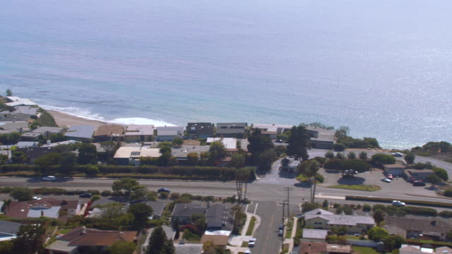 aerial following pacific coast highway north - north pacific stock videos & royalty-free footage