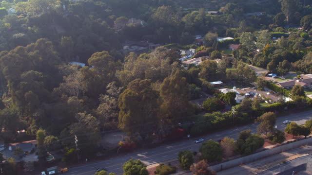 aerial palos verdes, ca - pacific palisades stock videos & royalty-free footage