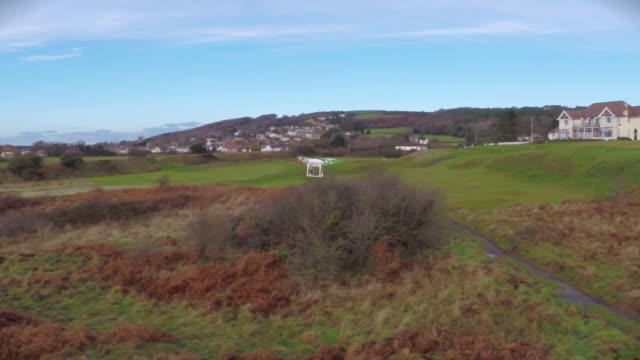 nnpr287h - quadcopter stock videos & royalty-free footage