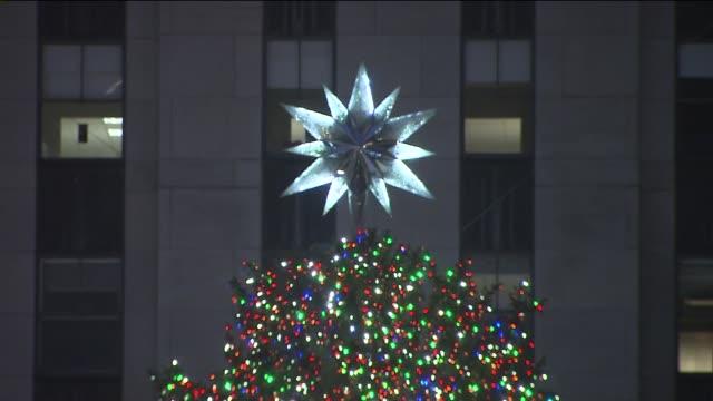 - rockefeller center christmas tree stock videos & royalty-free footage