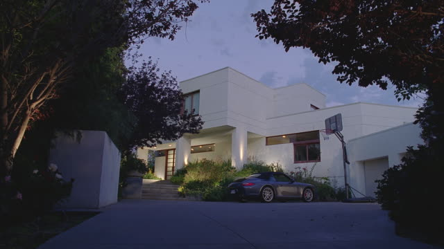 d/x very modern 2-story house - detached stock videos & royalty-free footage