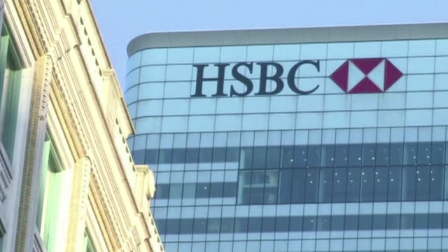 nnpr325y - hsbc towers stock videos and b-roll footage