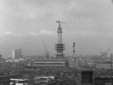 anb4571e - bt tower london stock videos & royalty-free footage