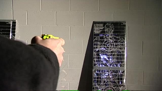 nnpr941n - shooting range stock videos and b-roll footage