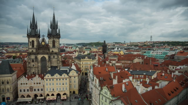 sts_prague_003   cityscape - stare mesto stock videos and b-roll footage