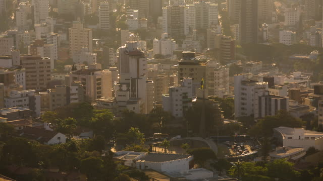 sts_bh_cityscape_002 - belo horizonte stock videos and b-roll footage