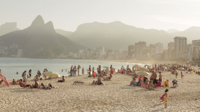 beach - establishing shot stock videos & royalty-free footage