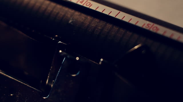 typewriter - skrivmaskin bildbanksvideor och videomaterial från bakom kulisserna