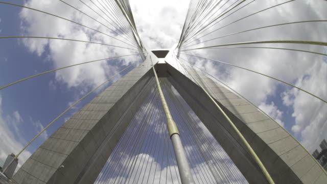 marginal pinheiros - 真下からの眺め点の映像素材/bロール