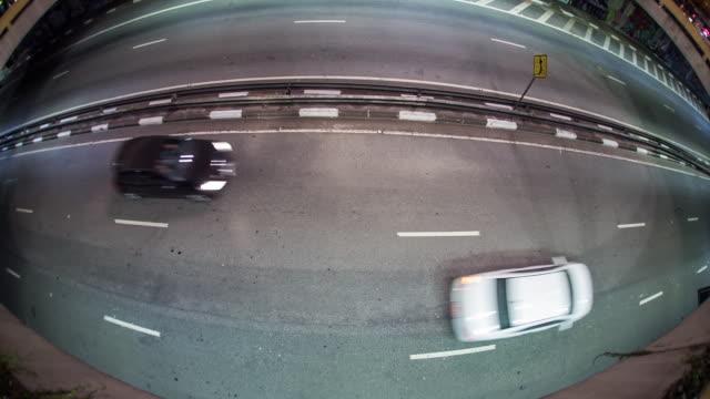 paulista avenue - fischaugen objektiv stock-videos und b-roll-filmmaterial