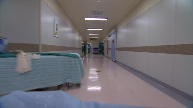 abla583a - hospital trolley stock videos & royalty-free footage