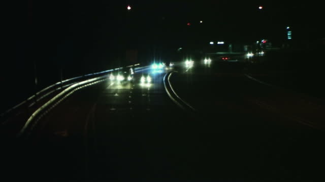 night traffic - farrah fawcett stock videos and b-roll footage