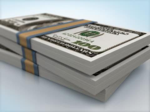 AMERICAN 100 DOLLAR BANK NOTES PACKS FALLING
