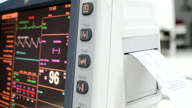 ecg - pulse oxymeter stock videos and b-roll footage