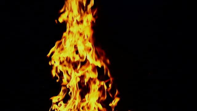 -120fps fire - keithmckenzie stock videos & royalty-free footage