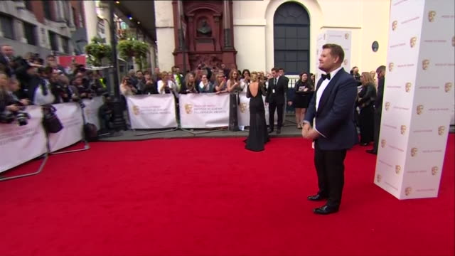 nnbm937k - british academy television awards stock videos & royalty-free footage