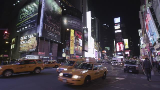 new york cityscape - biografskylt bildbanksvideor och videomaterial från bakom kulisserna