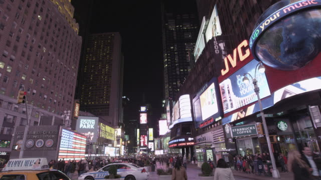 new york cityscape - digital signage stock videos & royalty-free footage