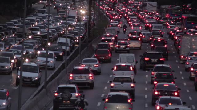 stockvideo's en b-roll-footage met traffic sao paulo - 2013