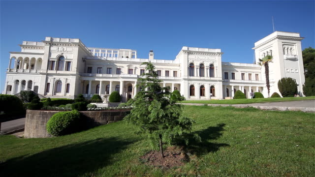 livadia palace - palace stock videos & royalty-free footage