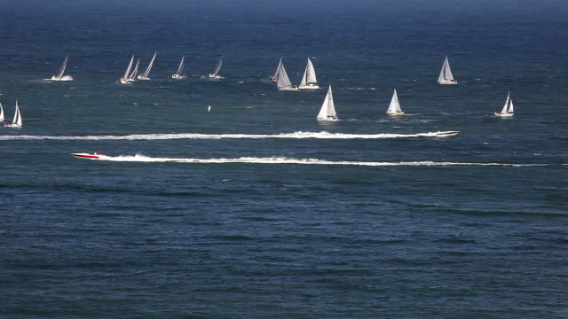 YACHT RACING IN SOUTH BAY