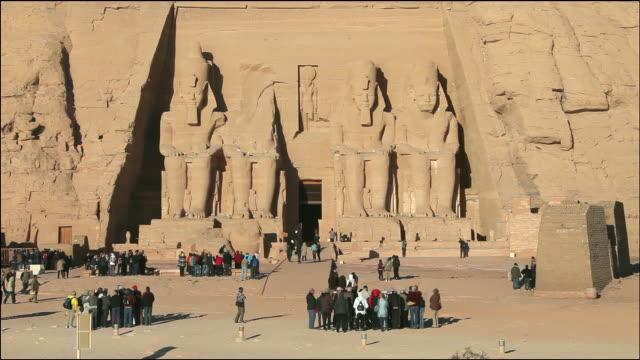 vidéos et rushes de the great temple of ramesses ii - dieu
