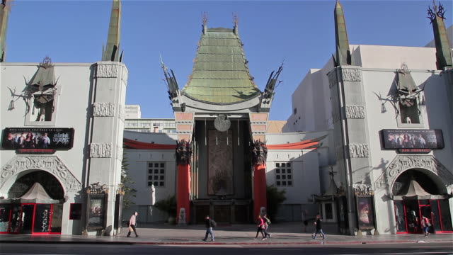 tcl chinese theatre - tcl chinese theatre stock videos & royalty-free footage