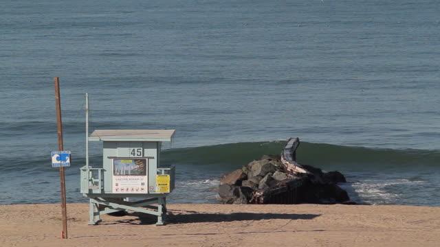 dockweiler state beach - el segundo stock videos and b-roll footage
