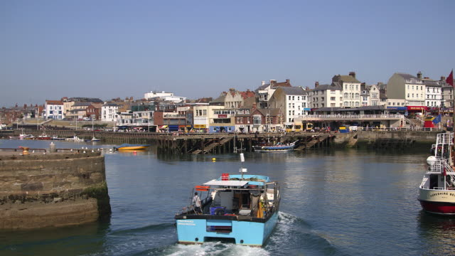 HARBOUR ENTRANCE AND PLEASURE BOAT RIDES