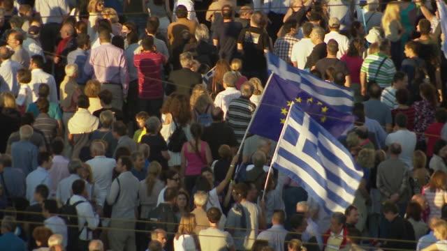 vídeos y material grabado en eventos de stock de nnbs319j) - bandera griega