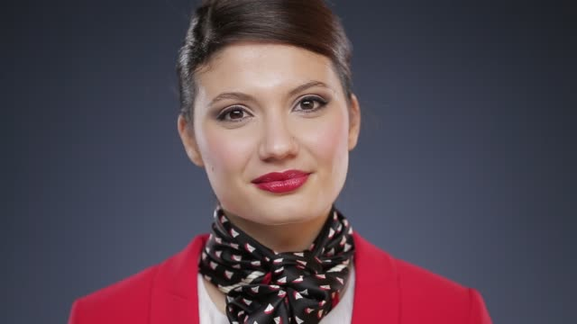 faces - air stewardess stock videos & royalty-free footage