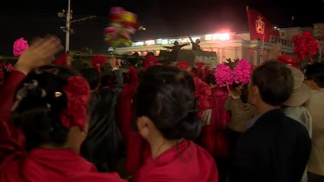 world news) - 軍事パレード点の映像素材/bロール