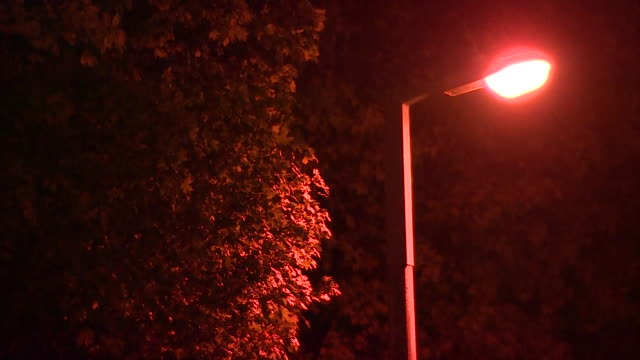 nnps388h - street light stock videos & royalty-free footage