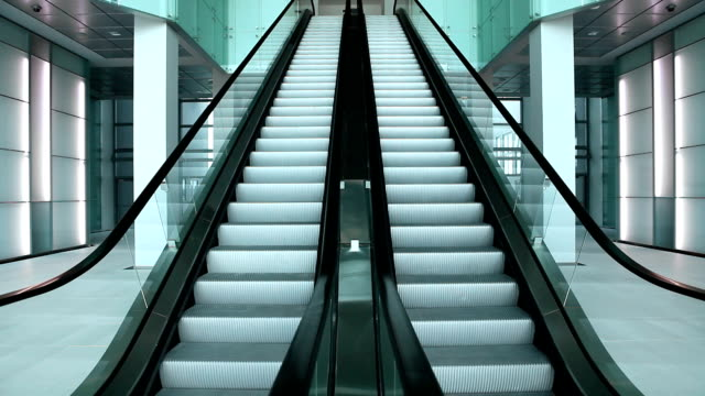 escalators - shopping centre stock videos & royalty-free footage