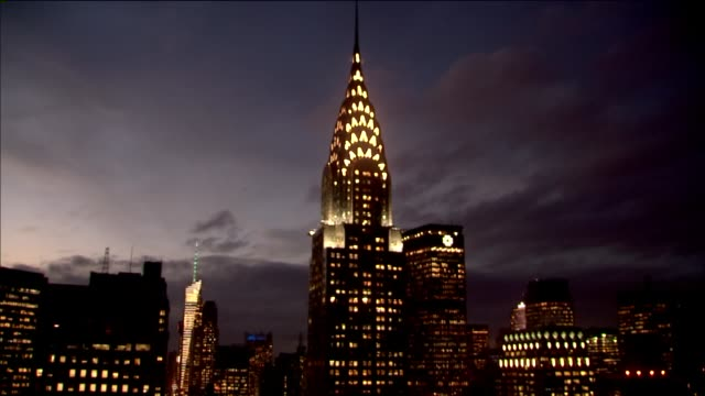- chrysler building stock-videos und b-roll-filmmaterial