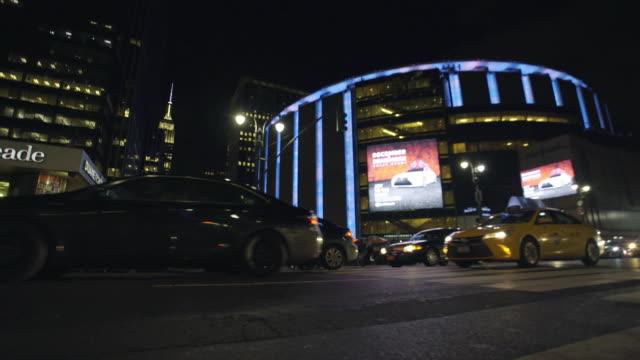 msg - new york city penn station stock videos & royalty-free footage