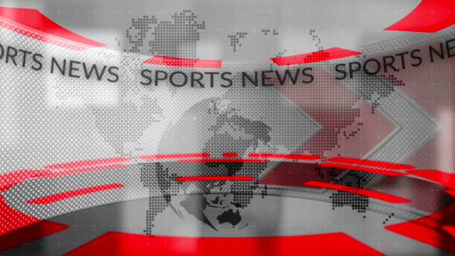 sports news - television show stock videos and b-roll footage