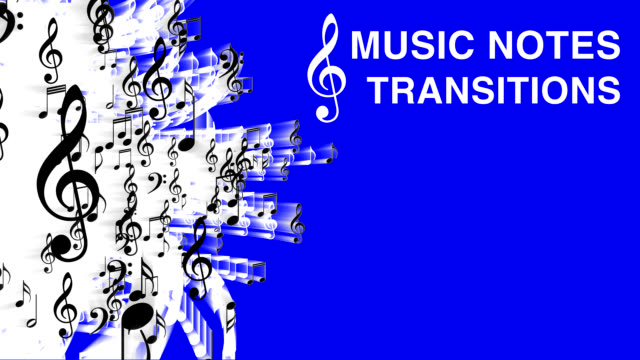 "video transition set ""music notes"" - musical note stock videos & royalty-free footage"