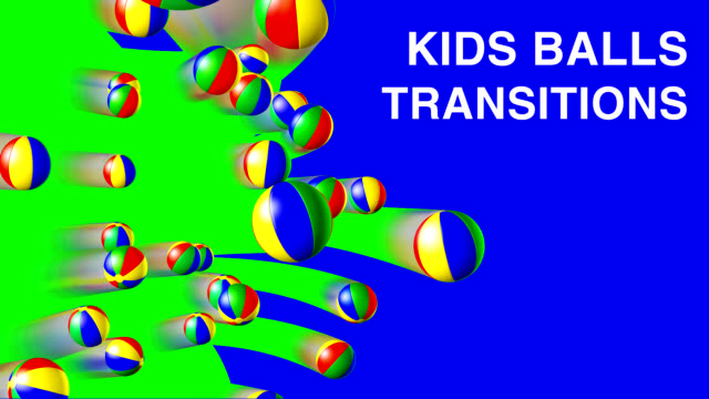 VIDEO TRANSITION SET 'KIDS BALLS'