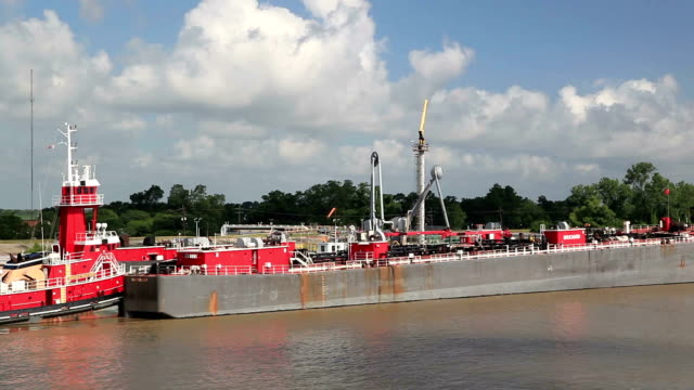 river tanker - barge stock videos & royalty-free footage