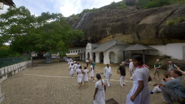 cave entrances and school children - sri lankan culture stock videos & royalty-free footage